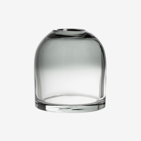 Bloomingville Kupolformad glasvas Grå