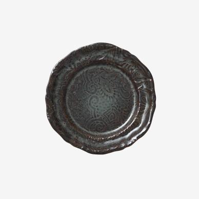 Sth%C3%A5l+Keramik alt Arabesque Assiett Fikon