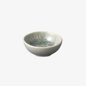 Sth%C3%A5l+Keramik Arabesque Dippskål Antik