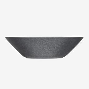 iittala Teema tallrik djup 21 cm melerad grå