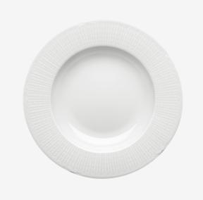 R%C3%B6rstrand Swedish Grace sopptallrik snö 25 cm
